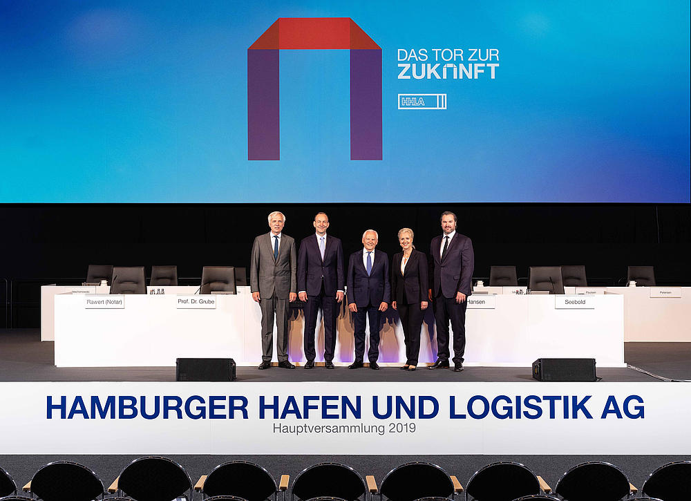 The Executive Board of HHLA and the Chairman of the Supervisory Board